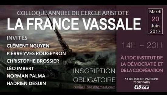 Christophe Brossier – La France vassale des GAFA (vidéo)