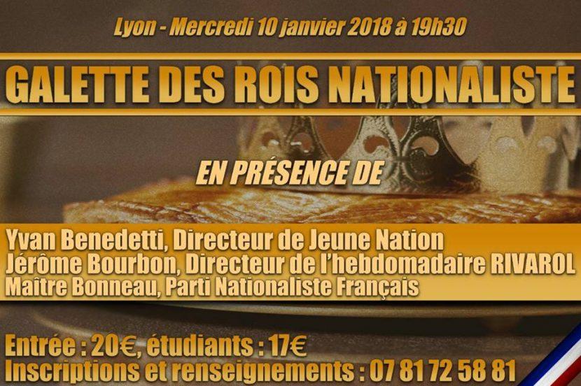 Galette des rois nationaliste – Lyon – 10 janvier 2018