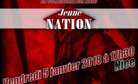 « Pour un nationalisme sans concession » – Nice – 5 janvier 2018