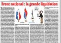 Front national : la grande liquidation