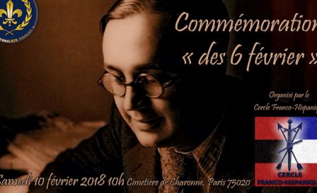 10 février 2018 – Cimetière de Charonne – Aux morts des « 6 févriers » !