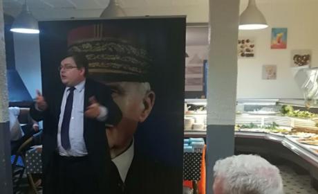 Galette des rois du Parti Nationaliste Français à Lyon le 10 janvier 2018