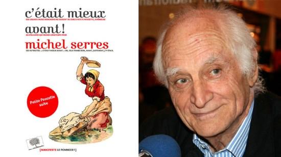 Lettre de Jacques Vecker à Michel Serres de l'Académie française