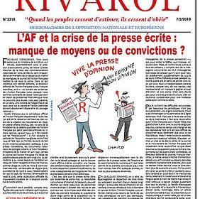 L'AF et la crise de la presse écrite : manque de moyens ou de convictions ?