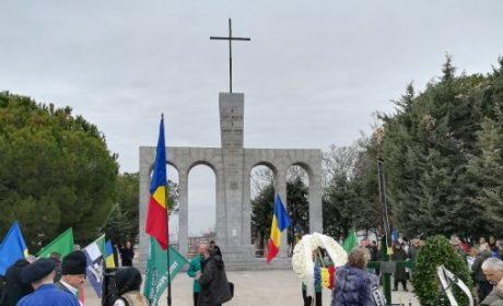 Délégation française aux cérémonies pour les héros Mota et Marin à Majadahonda