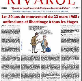 Les 50 ans du mouvement du 22 mars 1968 : antiracisme et libertinage à tous les étages