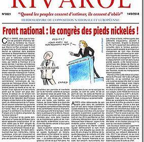 Front national : le congrès des pieds nickelés !