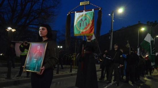Délégation française aux commémorations du général Hristo Lukov à Sofia