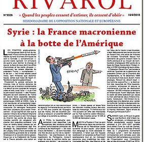 Syrie : la France macronienne à la botte de l'Amérique