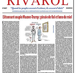 L'étonnant couple Macron-Trump : pincée de fiel et lune de miel