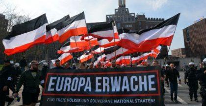 Délégation française au congrès « Europe réveille-toi ! » à Dortmund