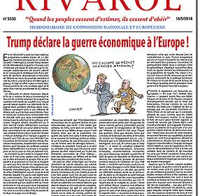 Trump déclare la guerre économique à l'Europe !