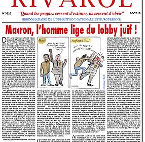 Macron, l'homme lige du lobby juif !