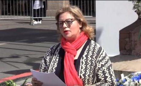 Message lu du mouvement grec Aube Dorée lors de l'hommage nationaliste à Jeanne d'Arc du 13 mai 2018 (vidéo)