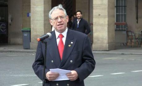 Allocution d'André Gandillon lors de l'hommage nationaliste à Jeanne d'Arc du 13 mai 2018 (vidéo)