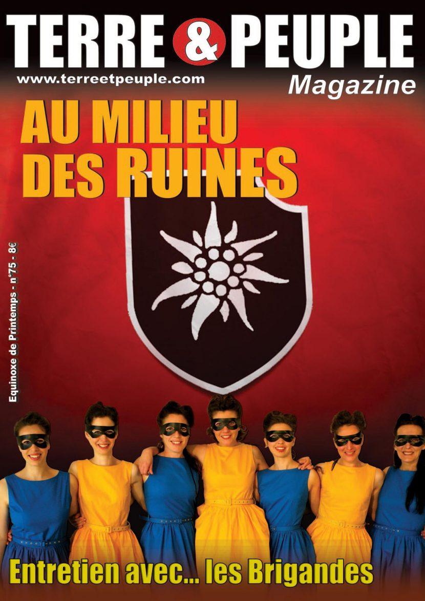 Nouveauté : Terre et Peuple Magazine – n°75 – Printemps 2018