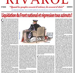 Liquidation du Front national et répression tous azimuts !