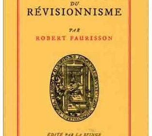 Nouveauté : Les Victoires du révisionnisme – Pr. Robert Faurisson