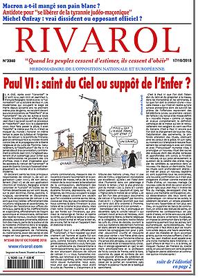 Paul VI : saint du Ciel ou suppôt de l'Enfer ?