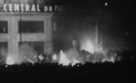 7 novembre 1956: L'attaque du siège du Parti communiste par les nationalistes de Jeune Nation
