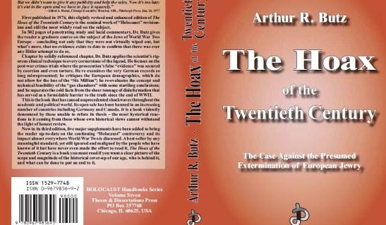 L'hommage de Arthur R. Butz à Robert Faurisson