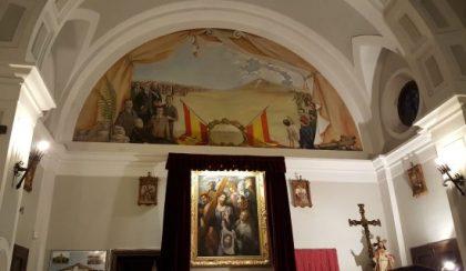 Discours d'Hélène Grimaldi au siège de la Vieille Garde de la Phalange espagnole (photos)