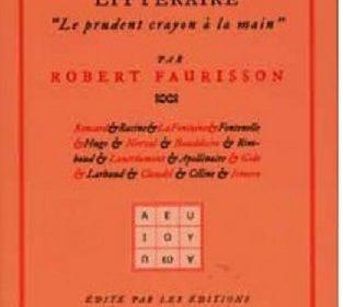 Nouveauté : Mon révisionnisme littéraire – Robert Faurisson