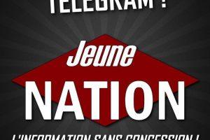 Retrouvez Jeune Nation sur Telegram!
