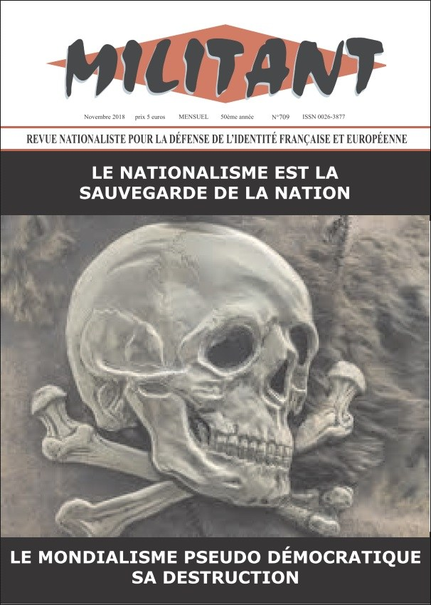 Le nationalisme n'est pas une « lèpre » mais la doctrine de la nation