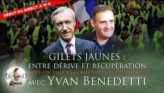 Quartier Libre d'Henry de Lesquen avec Yvan Benedetti (vidéo)